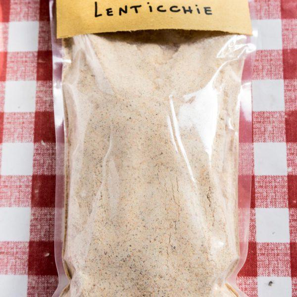 Farina biologica di lenticchie